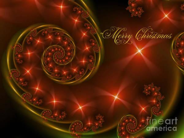 Xmas Digital Art - Merry Christmas by Lena Auxier