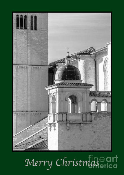 Photograph - Merry Christmas With Basilica Details by Prints of Italy