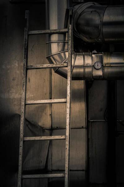 Rungs Wall Art - Photograph - Metal by Odd Jeppesen