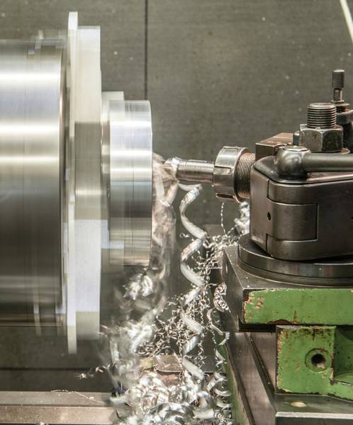 Drilling Photograph - Metal Tooling Shop Floor by Photostock-israel