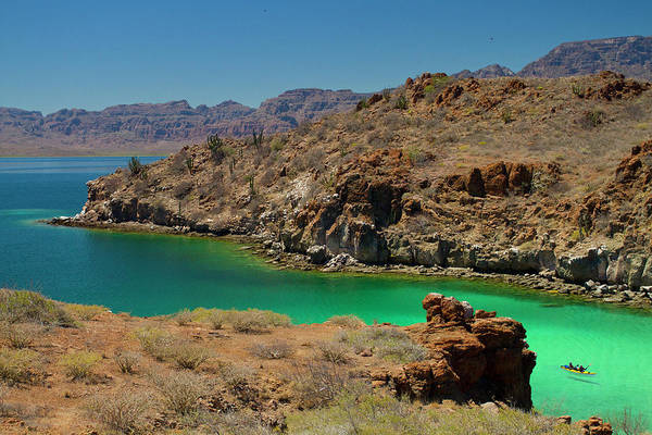 Bahia Photograph - Mexico, Baja, Sea Of Cortez by Gary Luhm