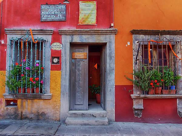 Wall Art - Photograph - Mexico, San Miguel De Allende, Back by Terry Eggers