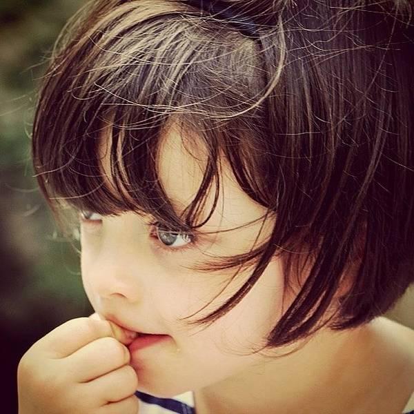 Portrait Photograph - Mia by Luisa Azzolini