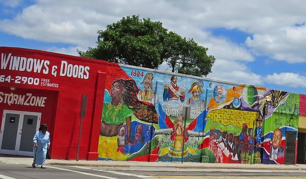 Miami Street Art Art Print