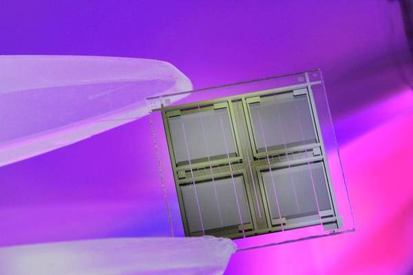 Wall Art - Photograph - Microchip by Sigrid Gombert/science Photo Library