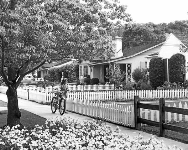 Photograph - Middle Class Homes by Underwood Archives