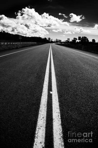 Expanse Photograph - Middle Road by Jorgo Photography - Wall Art Gallery