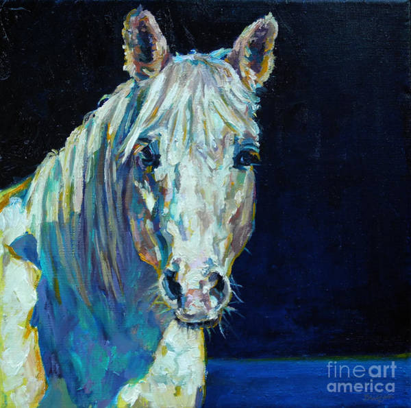 Painting - Midnight Ride by Patricia A Griffin