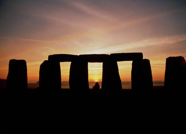 Wall Art - Photograph - Midsummer Sunrise At Stonehenge by Robin Scagell/science Photo Library