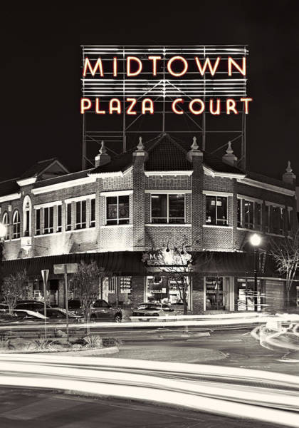 Shopping Photograph - Midtown Plaza by Ricky Barnard