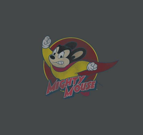 Wall Art - Digital Art - Mighty Mouse - Mighty Circle by Brand A