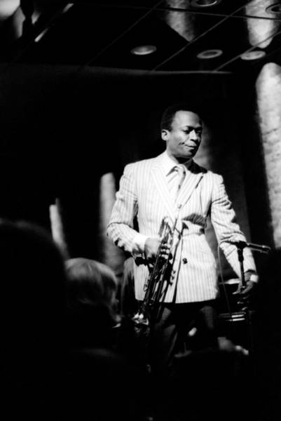 Wall Art - Photograph - Miles Davis At The Penthouse by Dave Coleman