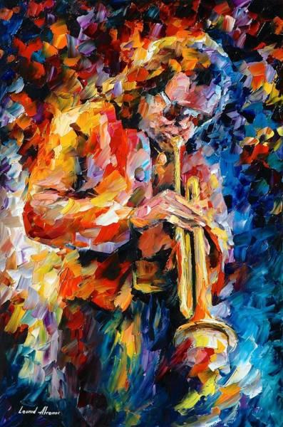 Miles Davis Painting - Miles Davis by Leonid Afremov