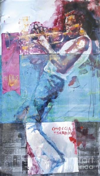 Miles Davis Painting - Miles by Massimo Chioccia