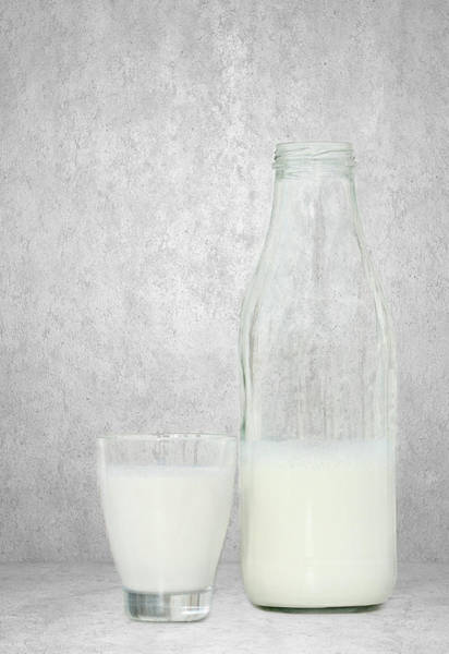 Eating Mixed Media - Milk by Heike Hultsch