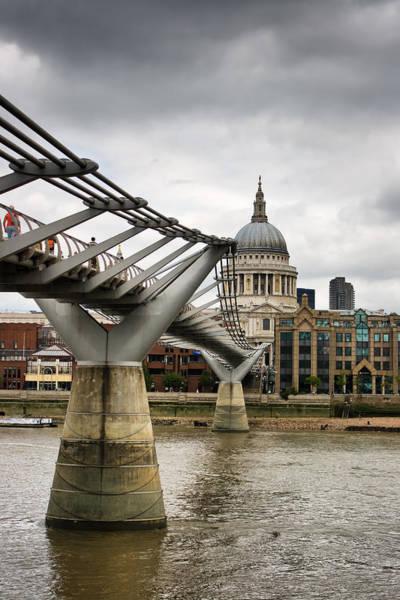 Bankside Photograph - Millennium Bridge by Pier Giorgio Mariani