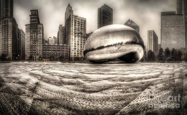 Millennium Photograph - Millennium Park In Chicago by Twenty Two North Photography