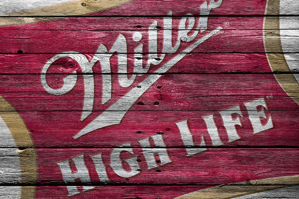 Wheat Photograph - Miller High Life by Joe Hamilton