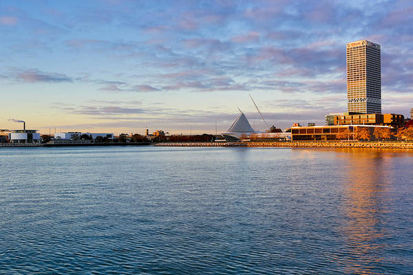 Photograph - Milwaukee At Sunrise by Ricky L Jones