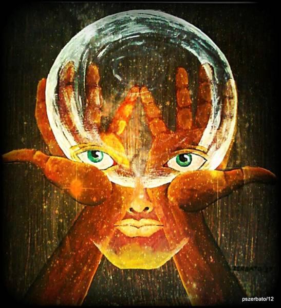 Subjective Digital Art - Mind by Paulo Zerbato