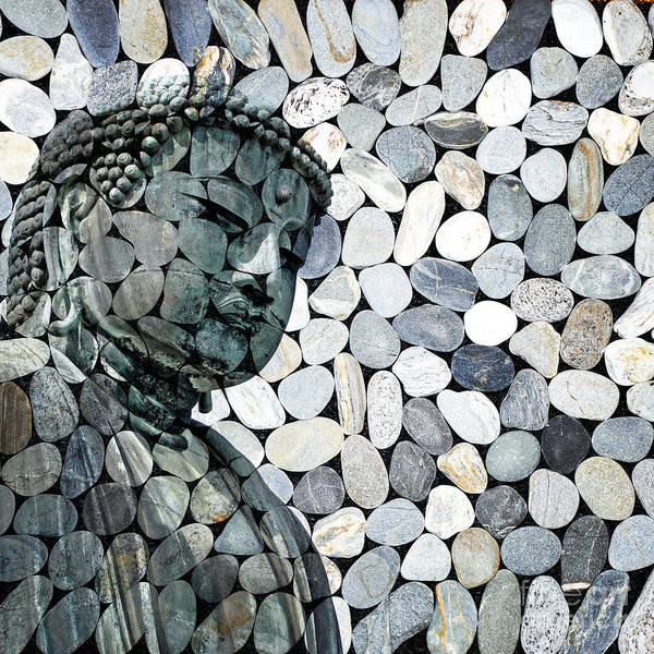 Wall Art - Digital Art - Mineral Daibutsu by Delphimages Photo Creations