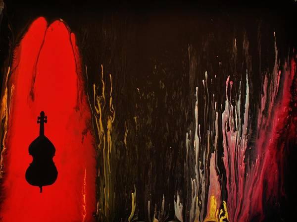 Painting - Mingus by Michael Cross