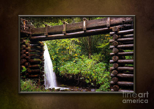 Mingus Mill Photograph - Mingus Mill-matted by Cindy Tiefenbrunn