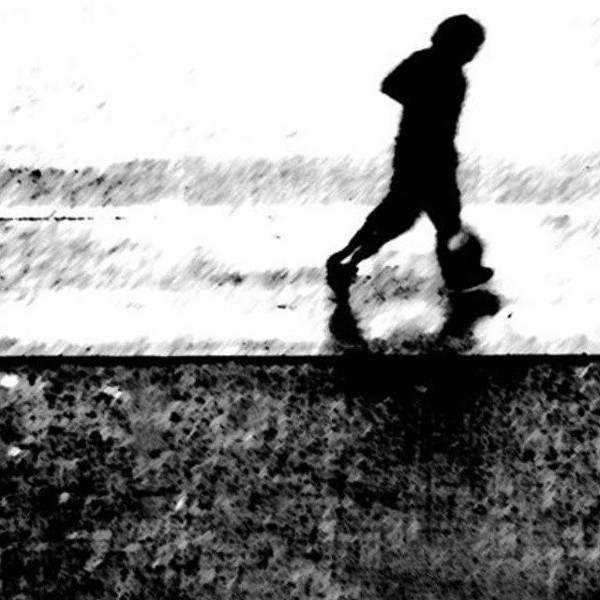 Minimalism Photograph - Walking In The Rain 2 by Jason Michael Roust