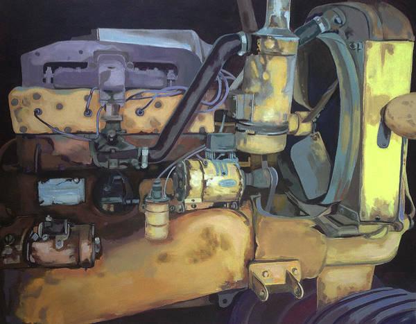 Minneapolis Painting - Minneapolis Moline by Jeffrey Bess