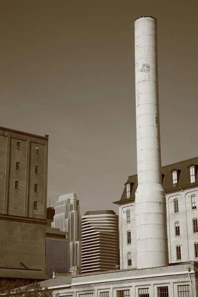 Photograph - Minneapolis Smokestack by Frank Romeo