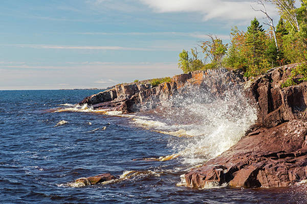 Lake Superior Wall Art - Photograph - Minnesota, Temperance River State Park by Jamie and Judy Wild