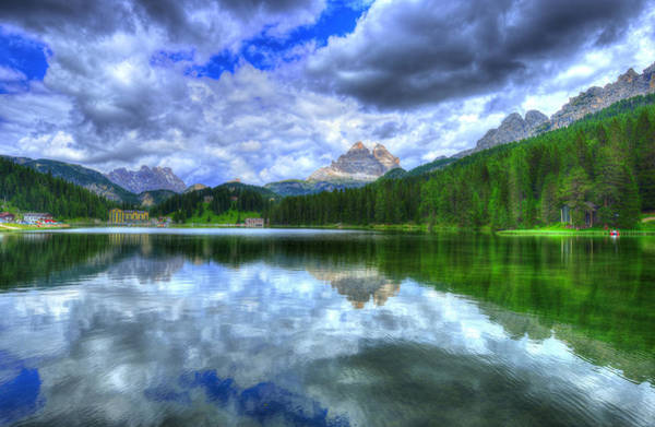 Dolomites Photograph - Mirror In The Sky by Midori Chan