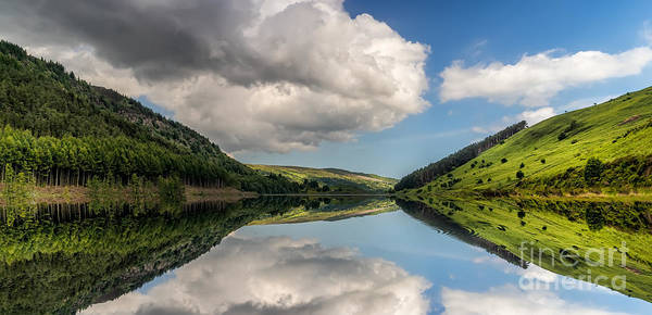 Coed Photograph - Mirror Lake by Adrian Evans
