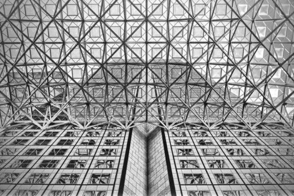 Photograph - Modern Archtecture by Rudy Umans