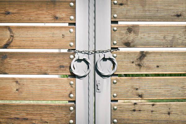 Entry Photograph - Modern Gate by Tom Gowanlock