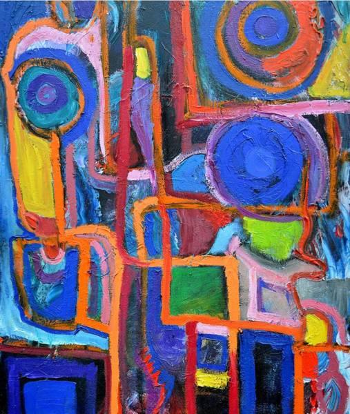 Painting - Modernismo by Regina Valluzzi