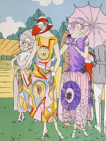 Parasol Painting - Modes Of The Moment by Anonymous