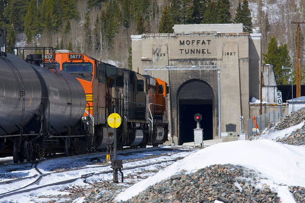 Photograph - Moffat Tunnel East Portal At The Continental Divide In Colorado by Steve Krull