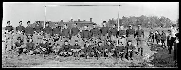 1921 Photograph - Mohawk Jr, Football Team, Oct 1921 by Fred Schutz Collection