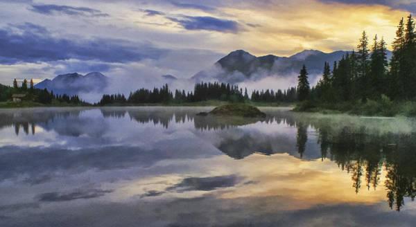 Wall Art - Photograph - Molas Lake Sunrise by Priscilla Burgers