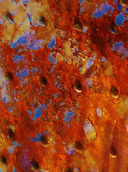 Photograph - Molten Rust by Charles Lucas