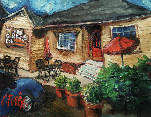 Wall Art - Painting - Momma G's by Carole Foret