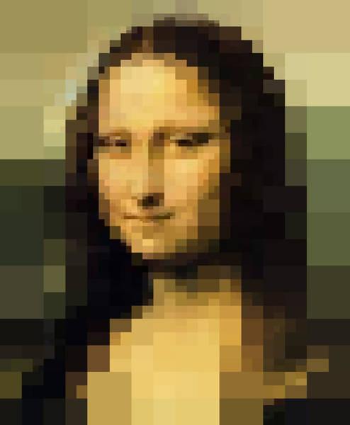 Mona Lisa Wall Art - Digital Art - Mona Lisa La Gioconda by Vitaliy Gladkiy