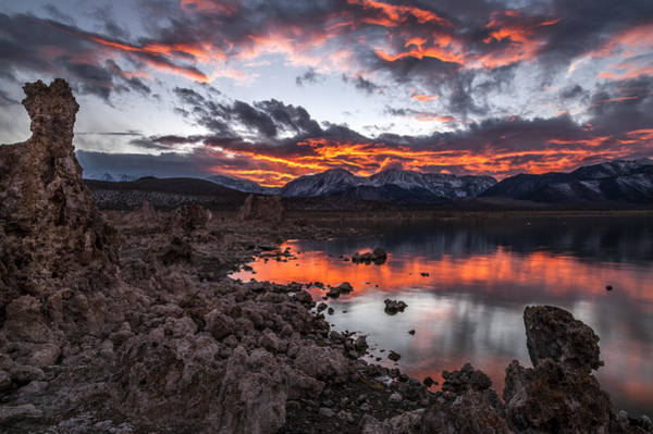 California Adventure Photograph - Mono Lake Sunset by Cat Connor