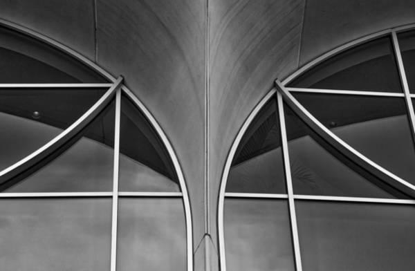 Photograph - Monona Terrace Windows by Steven Ralser