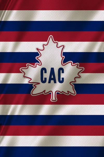 Montreal Photograph - Montreal Canadiens Uniform by Joe Hamilton
