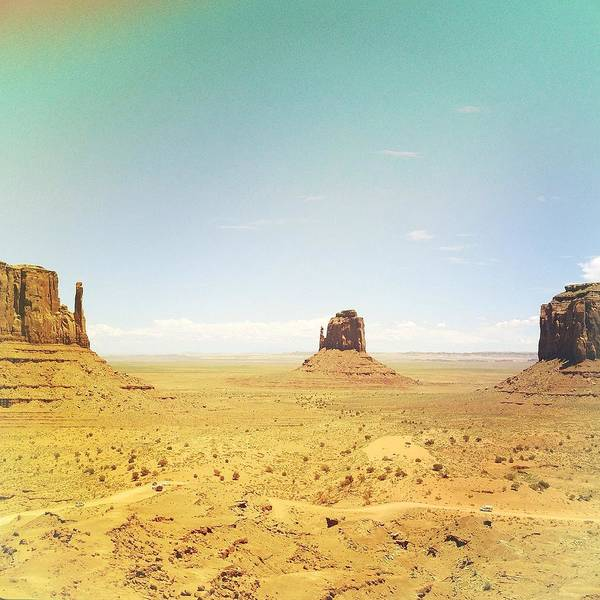 The Mitten Photograph - Monument Valley by Louise Morgan