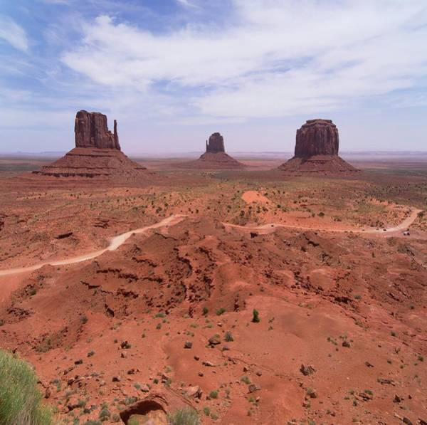 Geomorphology Wall Art - Photograph - Monument Valley by Mark Williamson