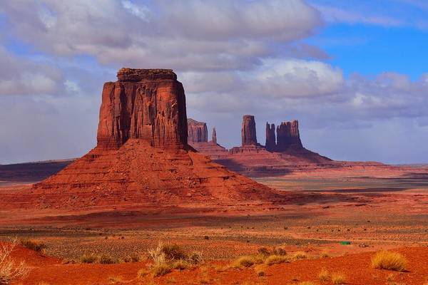 Photograph - Monument Valley by Walt Sterneman