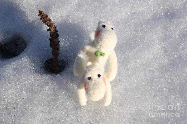 Tove Painting - Moomin In Love by Vera Dg